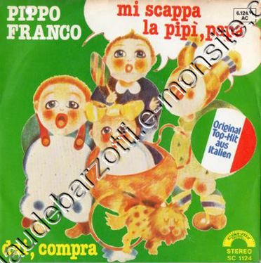 45 T version originale Italienne par Pippo Franco