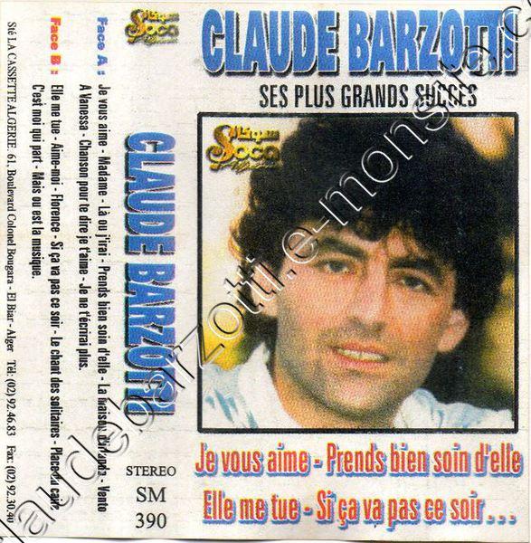 """k7 audio """"Ses plus grands succès"""" algérie label"""